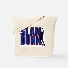 Slam Dunk Basketball Tote Bag