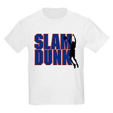 Slam Dunk Basketball Kids T-Shirt