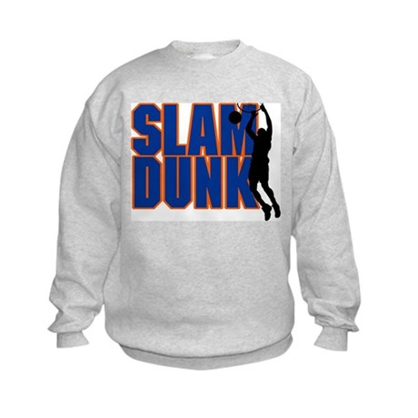 Slam Dunk Basketball Kids Sweatshirt
