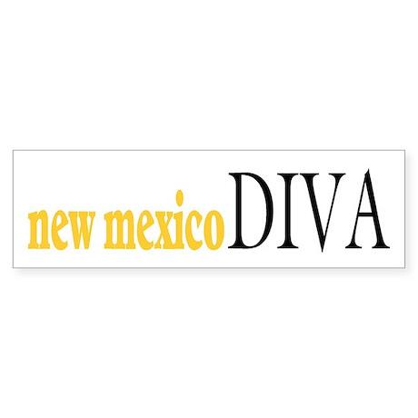 New Mexico Diva Bumper Sticker