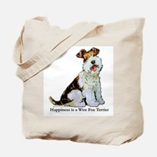 Fox Terrier Happiness Tote Bag