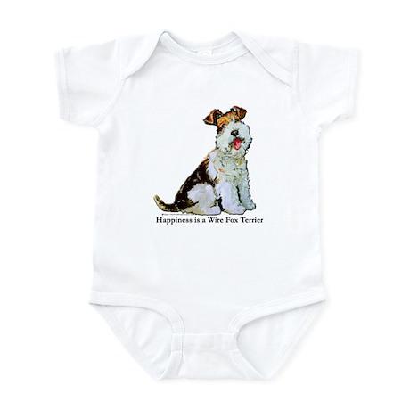 Fox Terrier Happiness Infant Bodysuit