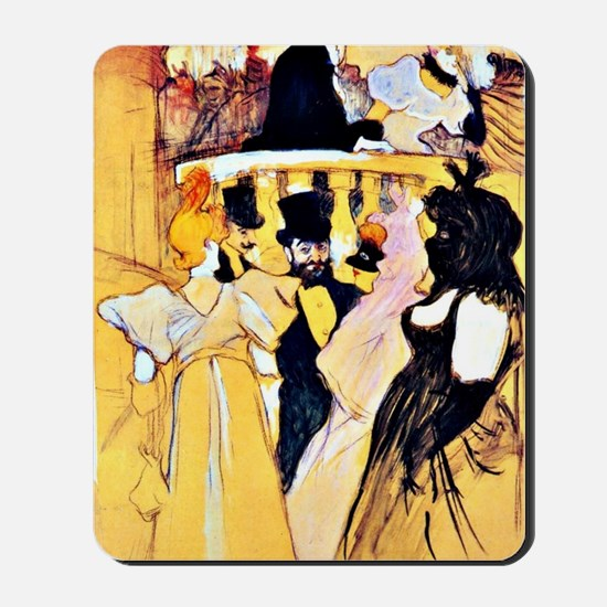 Toulouse-Lautrec: At the Opera Mousepad