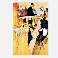 Toulouse-Lautrec: At the  Postcards (Package of 8)