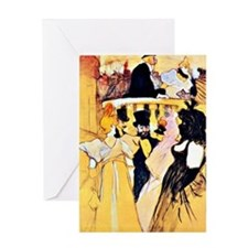 Toulouse-Lautrec: At the Opera Greeting Card