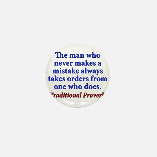 The Man Who Never Makes A Mistake - Traditional Mi