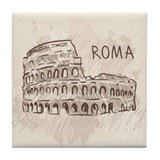 Rome italy Drink Coasters