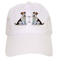 Fox Terrier Happiness Baseball Cap