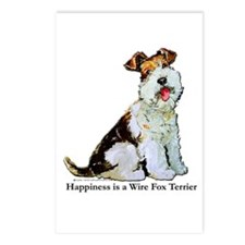 Fox Terrier Happiness Postcards (Package of 8)