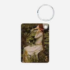 Ophelia by JW Waterhouse Keychains