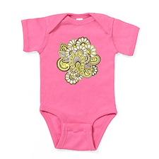 Creamy Henna Baby Bodysuit