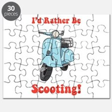 Id Rather Be Scooting Puzzle