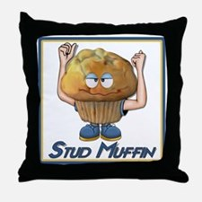 Stud Muffin Throw Pillow