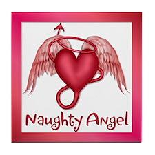 Naughty Angel Tile Coaster