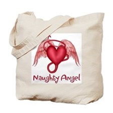 Naughty Angel Tote Bag