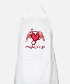 Naughty Angel BBQ Apron