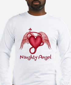 Naughty Angel Long Sleeve T-Shirt