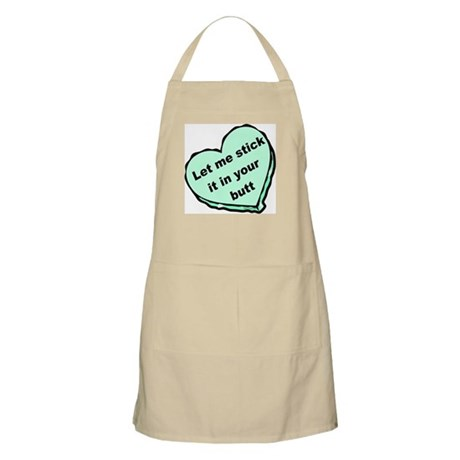 Stick it in Your Butt BBQ Apron