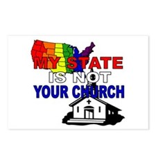 Church and State Postcards (8)