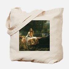Lady of Shalott by JW Waterhouse Tote Bag