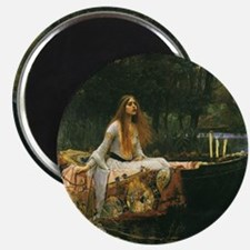 Lady of Shalott by JW Waterhouse Magnet