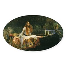 Lady of Shalott by JW Waterhouse Decal