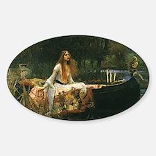 Lady of Shalott by JW Waterhouse Decal