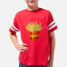 French Fries Youth Football Shirt