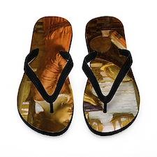 Destiny by JW Waterhouse Flip Flops