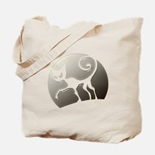 Halloween Scary Cat Tote Bag