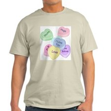 Valentine Candy Hearts T-Shirt
