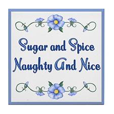 Sugar and Spice Tile Coaster