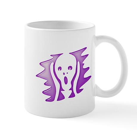 Halloween Purple Scream Mugs