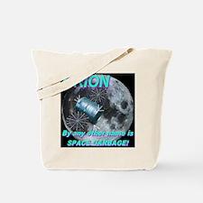 Shakespearean Space Garbage Tote Bag