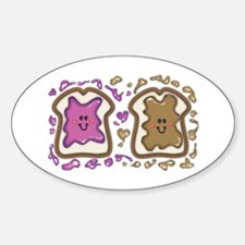 PBJ Sandwich Decal