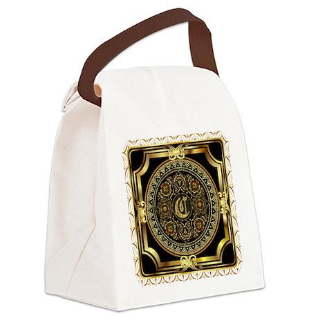 Monogram C Canvas Lunch Bag