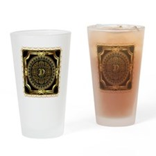 Monogram D Drinking Glass