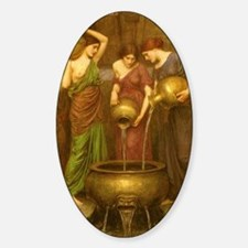 The Danaides by JW Waterhouse Decal