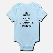 KEEP CALM AND GRADUATE IN 2018 Body Suit