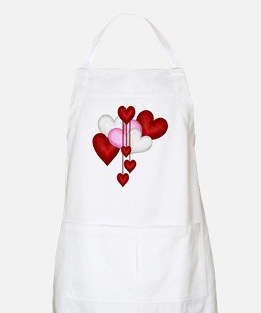 Romantic Hearts BBQ Apron