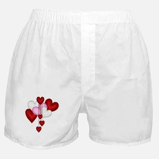 Romantic Hearts Boxer Shorts