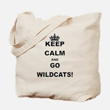 KEEP CALM AND GO WILDCATS Tote Bag