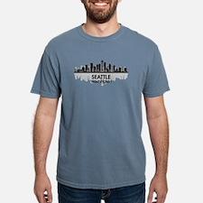 Unique Seattle washington Mens Comfort Colors Shirt
