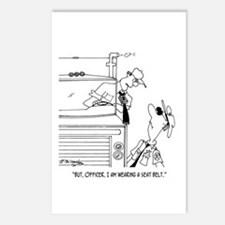 I Am Wearing My Seatbelt Postcards (Package of 8)