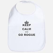 KEEP CALM AND GO ROGUE Bib