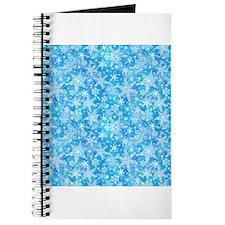 Feathery Snowflakes Journal