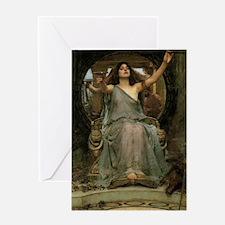 Circe by JW Waterhouse Greeting Card