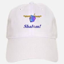 Hanukkah Shalom Baseball Baseball Cap