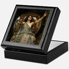 Circe by JW Waterhouse Keepsake Box