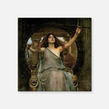 "Circe by JW Waterhouse Square Sticker 3"" x 3"""
